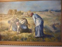 Marokszedök festmény