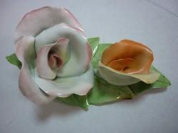 Aquincumi porcelán nagy rózsa