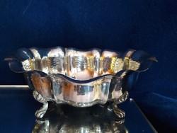 Fantasztikus ezüst kézzel készített cukortartó