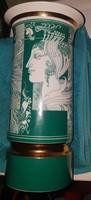 Szász Endre Zöld szinü váza ritka darab