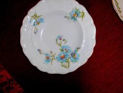 Antik búzavirág mintás   tányér 22,5 cm