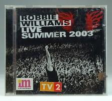 0T522 Robbie Williams : Live Summer 2003 CD