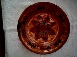 Kerámia tányér, falitányér
