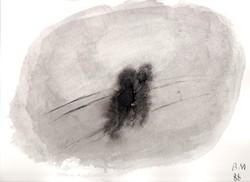 Borsos Miklós - 25 x 34 cm tus, papír