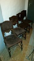 Barokk székek  4 db !