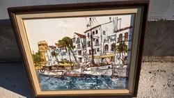 Bernard Dufon gyönyörű festménye