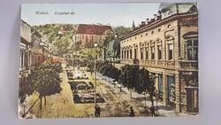 Régi Miskolci képeslap, Erzsébet-tér