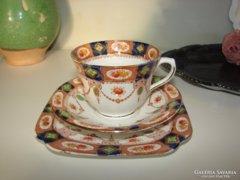 Doric Imari stÍusú BoneChina angol 3 részes teás szett.