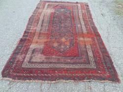 Antik Kaukázusi értékes,gyűjtői 100% gyapjú kézi csomózású szőnyeg 240cmx140cm
