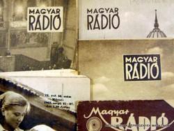 1947 november 7  /  MAGYAR RÁDIÓ  /  SZÜLETÉSNAPRA RÉGI EREDETI ÚJSÁG Szs.:  7477