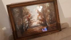 Jelzés nélkül akvarell Neogrády?