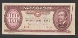 100 forint 1980. NYOMDAHIBÁS!! UNC!! RITKA!!