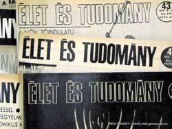 1969 november 7  /  ÉLET és TUDOMÁNY  /  SZÜLETÉSNAPRA RÉGI EREDETI ÚJSÁG Szs.:  6215