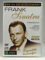 0T557 Legendák koncertjei Frank Sinatra DVD + CD