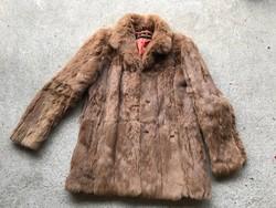 Vintage Femina Furs eredeti nyúlszörme?  bunda
