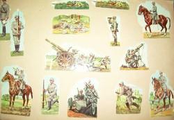 Préselt képek - militária chromolitho