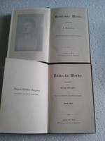 Német nyelvű könyvek 1897-ből 2db