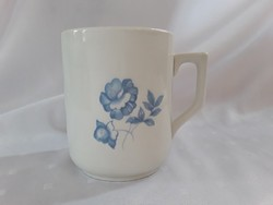 Zsolnay kék rózsás bögre  /  2033