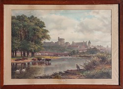 Angol nyomat: A Windsori kastély