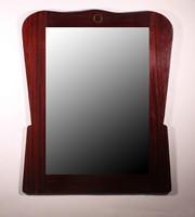Tükör, fa kerettel