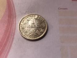 """1911""""D"""" ezüst 1 márka,nagyon ritka!!!!!gyönyörű darab"""