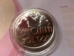 1988 Szöul ezüst 500 Ft 28 gramm 0,900