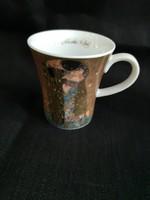 Goebel Gustav Klimt: A csók kávéscsésze 1db limitált, hibátlan