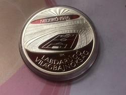 1986 VB ezüst 500 Ft 28 gramm 0,640 PP