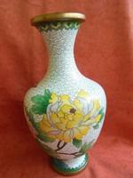 Rekesz zománcos váza