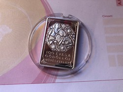 Gödöllő ezüst 4000 ezüst ft 31,46 gramm 0,925 PP R