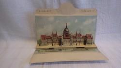 Budapest Parlament leporello képeslap érdekesség