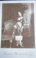 HABSBURG OTTÓ KORONA HERCEG TRÓNÖRÖKÖS IV. Károly UTOLSÓ MAGYAR király 1916 KORONÁZÁS BUDA