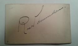 Roald Amundsen autogram