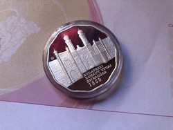 Dohány utcai zsinagóga ezüst 5000 ft 31,46 gramm 0,925 PP R