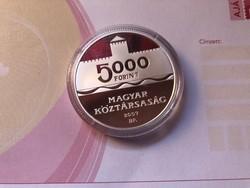 Gyulai vár 5000 ft 31,46 gramm 0,925 PP R