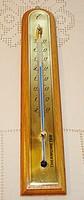 Retro, nagy méretű fali hőmérő
