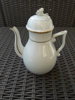 Herendi fehér-arany kávéskanna 23 cm (sérült)