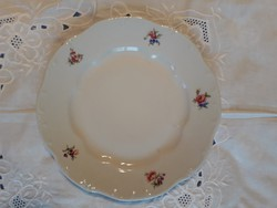 Zsolnay porcelán lapostányér