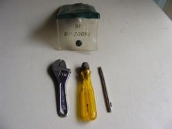 BP mini franciakulcs és csavarhúzó szett
