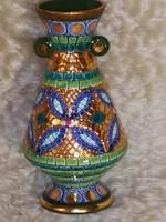 Olasz Deruta mozaikos váza