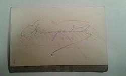 Engelbert Humperdinck autogram