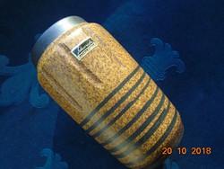 Címkés újszerű Scheurich W.Germany kerámia váza 15 cm