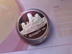 Diósgyőri vár ezüst 5000 ft 31,46 gramm 0,925 PP R
