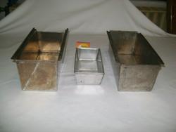 Sütőforma - három darab