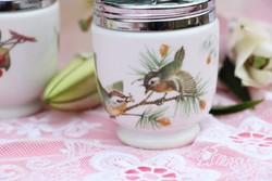 Fedeles porcelán tojásfőzők párban