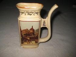 "Ásvány vizes  pohár  ""  Karlovy Vary "" felirattal  95x132 mm"
