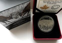 2014 Kanada 20$ A Challenge - 1 uncia tiszta ezüst érme proof  - tükröveretes