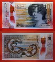 2016. Egyesült Királyság - Skócia- RBS 10 font polymer bankjegy UNC
