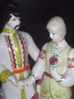 Nagy méretű orosz porcelán szobor
