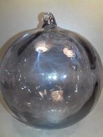 Üveg gömb függeszthető dísz karácsonyfa dísz 41 cm kerülettel!!!